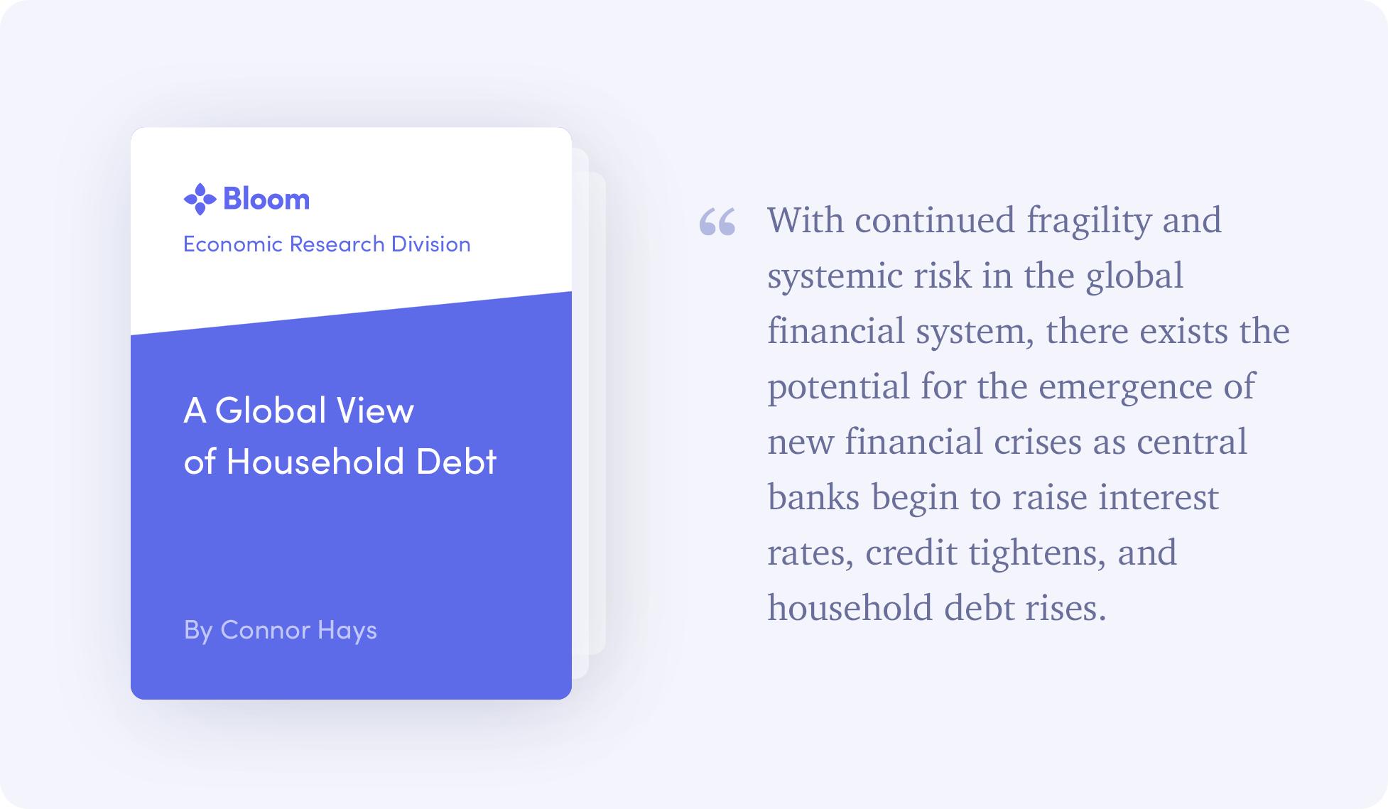 global household debt