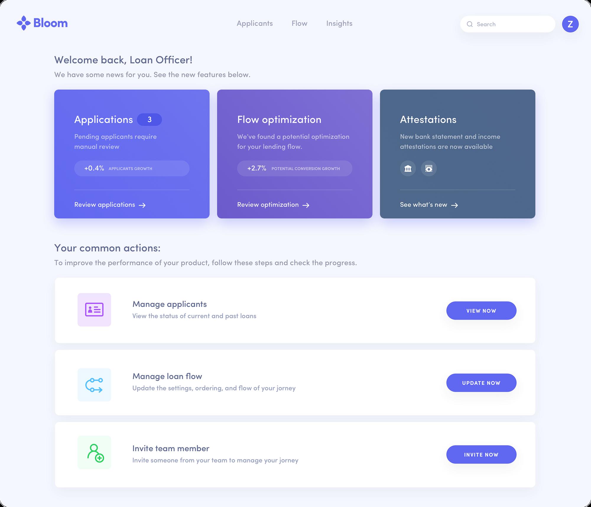 digital lending platform
