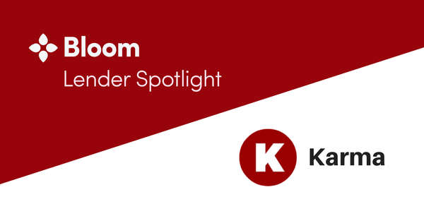 Bloom Lending Spotlight: Karma