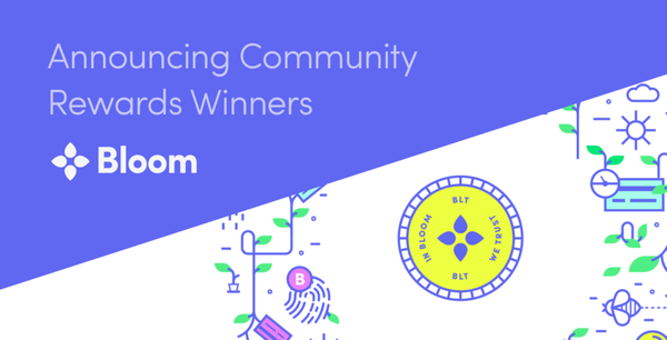 Announcing Community Rewards Program Winners