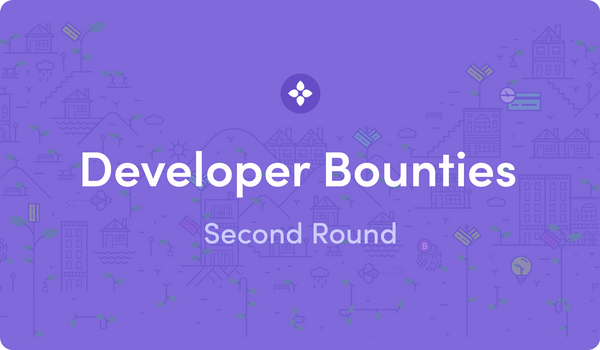 Announcing Second Round of Developer Bounties