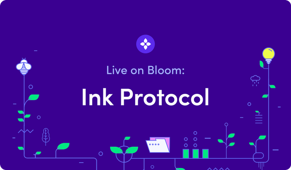 Live on Bloom: Ink Protocol Integrates Bloom to Power Verified Sellers