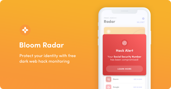 Introducing Bloom Radar: Free Personal Hack Monitoring
