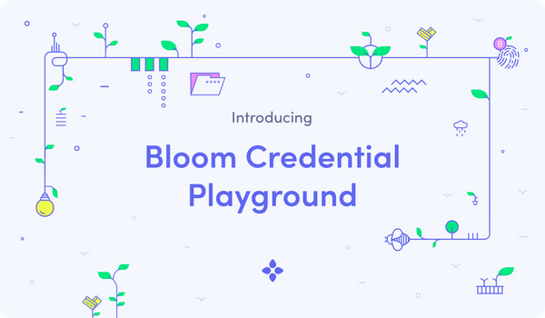 Introducing the Bloom Credential Playground