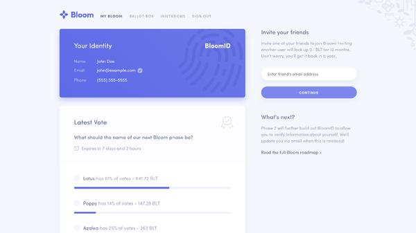 Bloom Token Sale: Recap & Next Steps